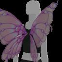 Avatar Purple butterfly wings