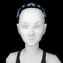 Avatar Blue bandanna headband
