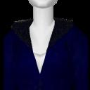 Avatar Blue fuzzy streetwear hoodie
