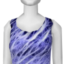 Avatar (streetwear) electric blue dress.