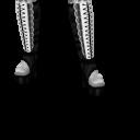 Avatar White laced lolita boots