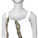 Avatar Mustache necklace