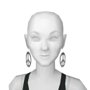 Avatar Peace earrings