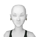 Avatar Beige rose earrings
