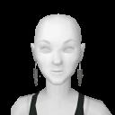 Avatar Tribal earrings