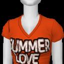 Avatar Orange summer love tee
