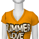 Avatar Yellow/orange summer love tee