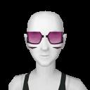 Avatar Retro super future purple lucia sunglasses