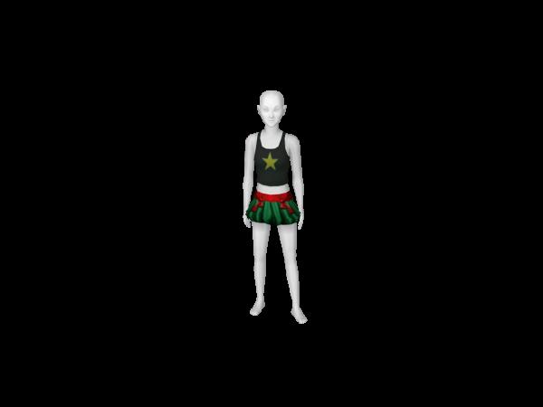 Avatar Tmnt - raphael skirt