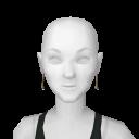 Avatar Cavewoman bone earrings