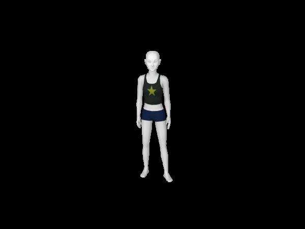 Avatar Pebbles costume bottoms