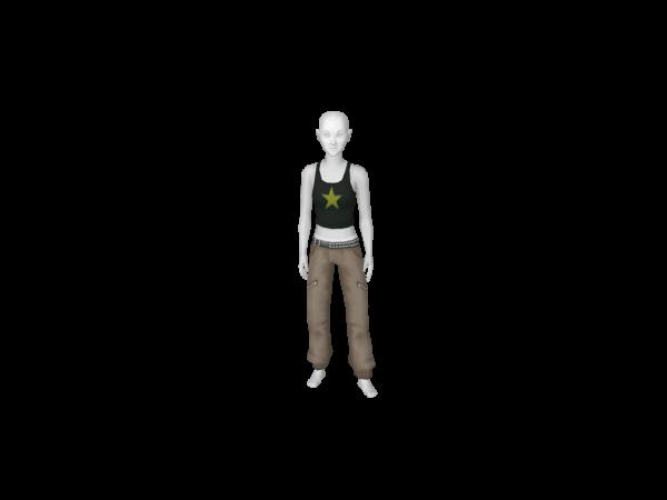 Avatar Genie costume bottoms