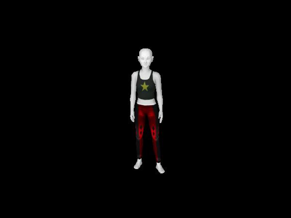 Avatar Harley quinn leggings