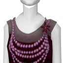 Avatar 1920's flapper dress spooky purple