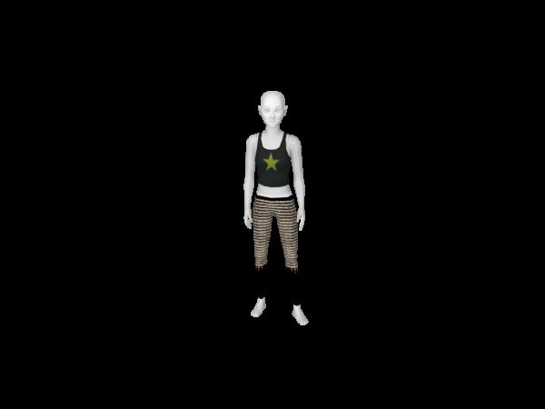 Avatar Pirate girl costume: pirate leggings