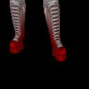 Avatar Half angel half devil boots