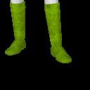 "Avatar Lime ""vrayola"" crayon costume boots"