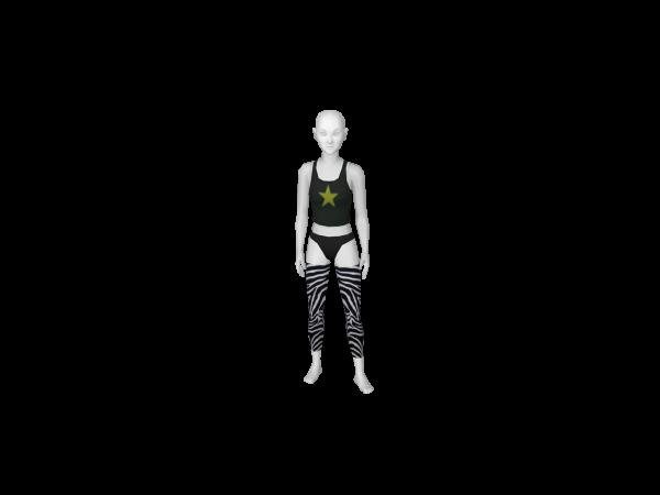 Avatar Zebra 3/4 leggings