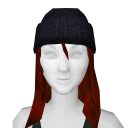 Avatar Simple black beanie