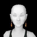 Avatar Cute candy corn earings