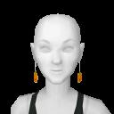 Avatar Cute pumpkin earings