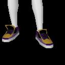 Avatar Yellow n purple dunks