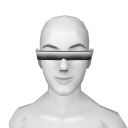 Avatar Cyber silver glasses