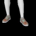 Avatar Argyle slip-on's