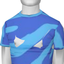 Avatar Aqua zebra print