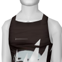 Avatar (streetwear) love the skull tank top (black-ish).