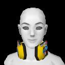 Avatar Checkered headphones