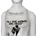 Avatar All the arms we need stenciled beater