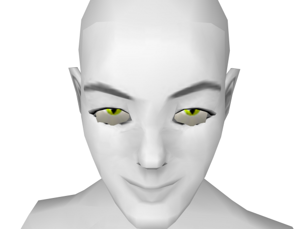 Avatar Yellow cat eye contacts