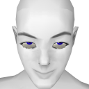 Avatar Blue star contacts