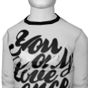 Avatar You only love once long sleeve tee