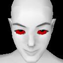 Avatar Blood spurned black eyes